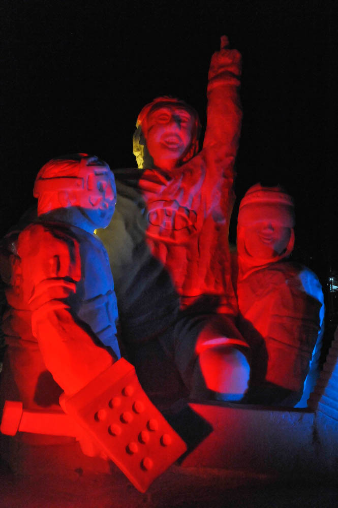 Snow Sculptures Winterlude Ottawa